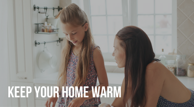 how to keep your warm home without blasting the furnace