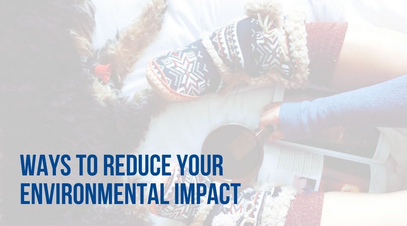 ways to reduce your environmental impact and stay warm this winter
