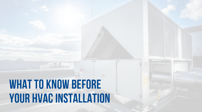what to know before any commercial hvac installation