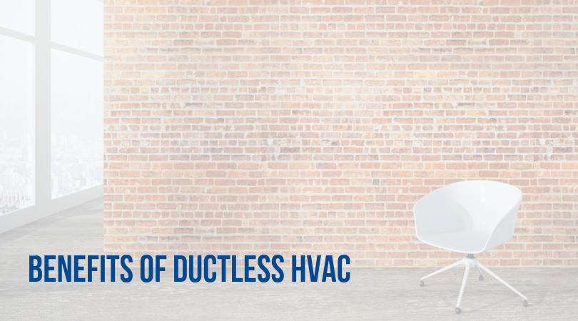 Benefits of Ductless HVAC for Commercial Buildings