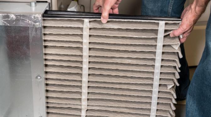change air filter greater comfort HVAC