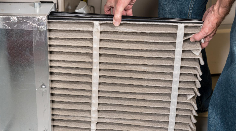 change air filter greater comfort HVAC
