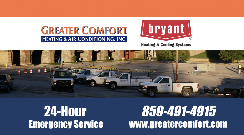 heating and cooling Greater Comfort
